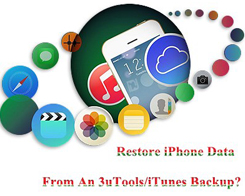 How to Restore iPhone Data From An 3uTools/iTunes Backup?
