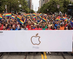Apple Celebrates Pride During Parades in San Francisco, New York City, and Toronto
