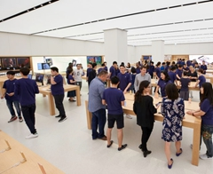 Apple Wows us with Photos of Its First Ever Taiwanese Store