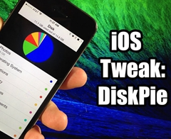 Disk Pie – Interactive Way to Check Disk Usage on iOS 7/8/9/10