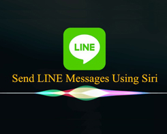 How to Send LINE Messages Using Siri?