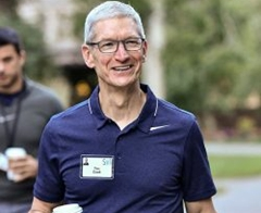 Apple CEO Tim Cook and iTunes Chief Eddy Cue Attend Sun Valley Media Retreat