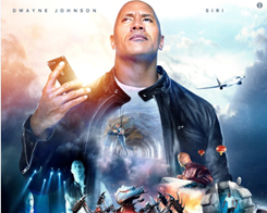Dwayne 'The Rock' Johnson co-starring Siri for a new 'movie'