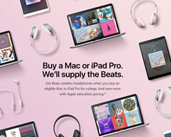 Apple's 2017 Back to School Deal Expected to Launch in UK