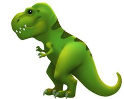 Scientists Grumpy About Apple's New T-Rex Emoji