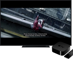 Florida Company Sues Apple, Says Apple TV's 'What Did He Say?' Feature Copies Its Movie Software