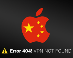 Apple Removes VPN Apps From App Store in China