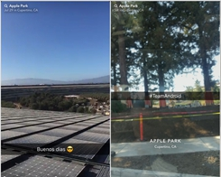 Construction Workers are Posting Snapchat Stories from Inside Apple Park