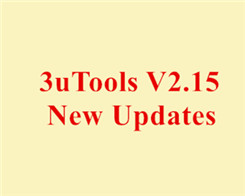 Three Significant Updates in 3uTools V2.15