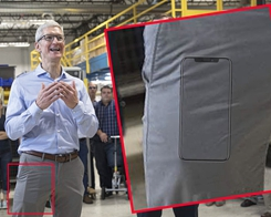 Is that An iPhone 8 in Tim Cook's Pocket?