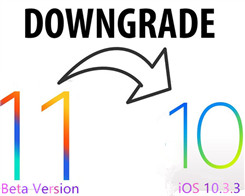 Downgrade iPhone From iOS11 Beta Version to iOS 10.3.3