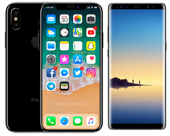 Apple May Launch Galaxy Note 8-Sized iPhone With 6.4-Inch OLED Display Next Year
