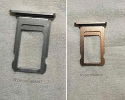 Purported OLED iPhone 8 SIM Trays Surface, Once Again Showing New Gold Color