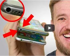 Gutsy Genius Gives his iPhone 7 a Legit Headphone Jack