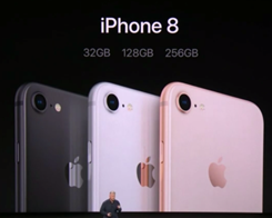The iPhone 8 and 8 Plus Start at $699 and $799