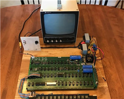 Charitybuzz Auctioning Off Vintage 'Schoolsky' Apple-1 Computer
