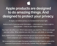 Tim Cook and Phil Schiller Promote Apple's Updated Privacy Page