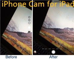 iPhone Cam for iPad: Bring the iPhone's Camera App User Interface to the iPad