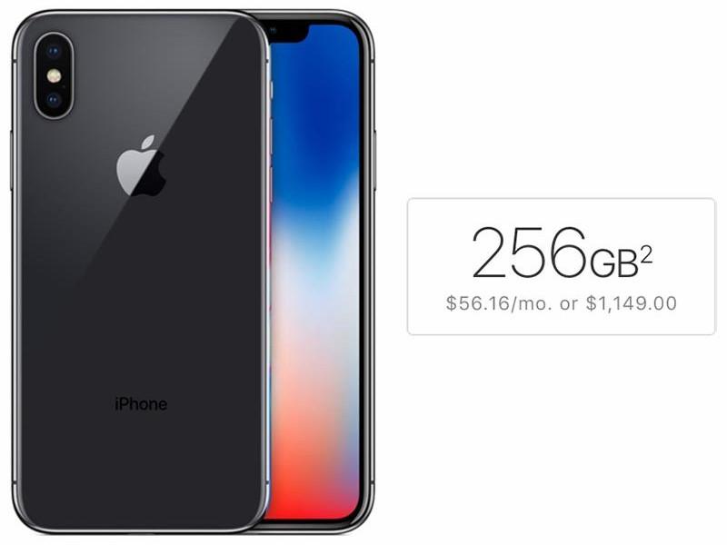 Over Half of Prospective iPhone X Buyers Surveyed Plan to Choose 256GB Storage