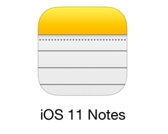 How to Transfer Notes to iDevice Running iOS 11?