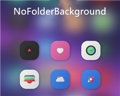NoFolderBackground - Hide Folder Background(s) on iOS 10
