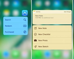 Colorize your iPhone's Quick Action Menus with SB3DTouchColor