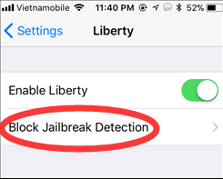 Liberty Lite: Hide Jailbreak Status on iOS 11 with Electra