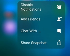 Rooster – 3D Touch on Apps to Enable/Disable Notifications
