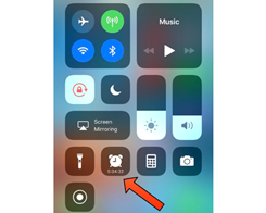 This Tweak Displays a Countdown to Your Alarm in Control Center