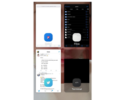 Gauze Brings a Grid-style App Switcher to iOS 10 Devices