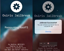 GeoSn0w Releases iOS 11.2 - 11.3.1 Jailbreak for Developers