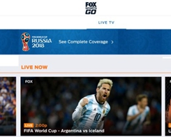 Millions of Americans Watching World Cup on their iPhone or iPad