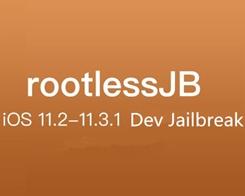 rootlessJB Developer Jailbreak Released for iOS 11.2-11.3.1