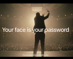 Apple's Latest iPhone X Ad Uses Face ID to Ease Password Worries