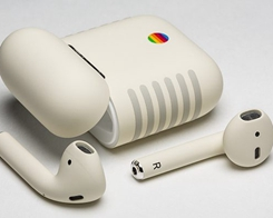 ColorWare Releases Custom-Painted AirPods With Classic Macintosh Design