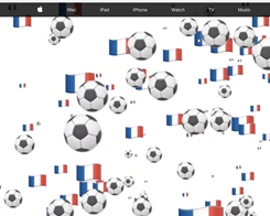 Apple Celebrates the World Cup Final with Apple․com Overhaul