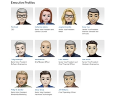 Apple Gives its Leadership Site a Memoji in Celebration of World Emoji Day
