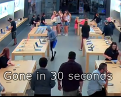 How are Apple Store Thieves Getting Away in Broad Daylight?