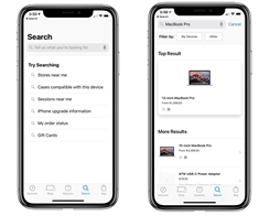 Apple Store App for iOS Update Brings Revamped Search Interface with Voice Support