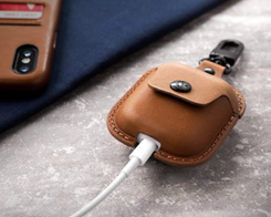 Twelve South Launches 'AirSnap' Leather Carrying Case for AirPods