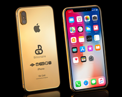 Get Your Gold-Plated 2018 'iPhone Xs' for Just $127,000