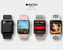 Apple Watch Series 4 Models Filed in Eurasian Database Ahead of September Launch