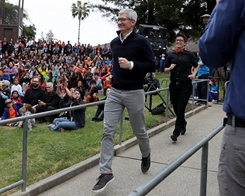 Tim Cook Donated Nearly $5 Million Worth of Apple Shares to Charity