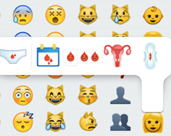 The Tech World's Solution to Menstrual Awareness is This Period Emoji