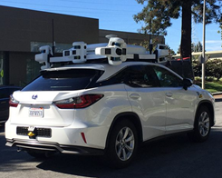 Apple Autonomous Test Vehicle Involved in Accident on August 24
