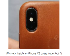 iPhone X Cases is not Fit iPhone XS' Camera Perfectly