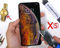 iPhone XS Undergoes Durability Test – Scratch, Burn and Bend Tested