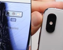 iPhone XS Max vs. Galaxy Note 9 Drop Test