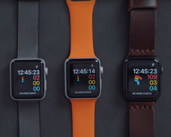 Speed Comparison on 5 Generations of Apple Watch