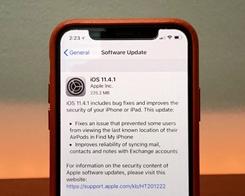 Apple is Still Signing iOS 11.4.1 OTA Update Randomly